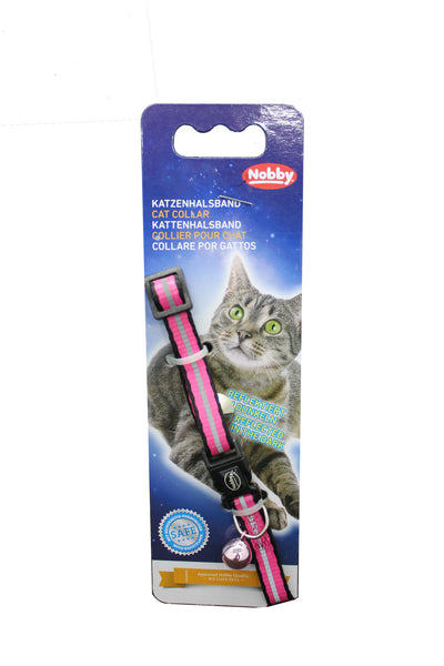 Collar Gato Papillon Nylon Colores surtidos Safety Security- Clínica veterinaria