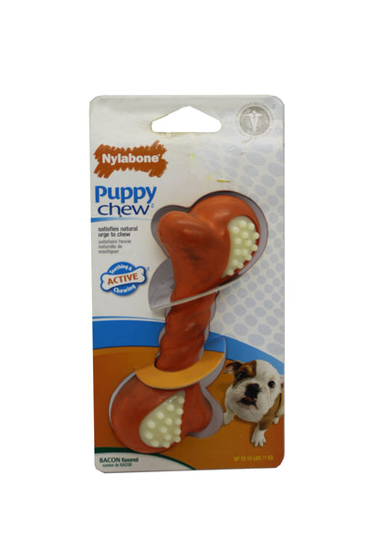 Nylabone Tocino Double Action XS Puppy Chew- Clínica veterinaria