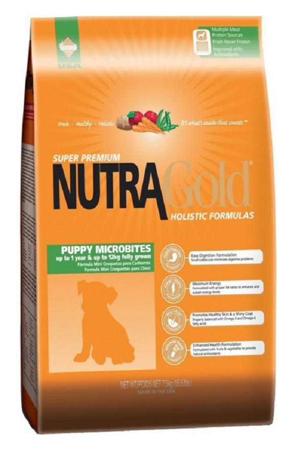 Nutra Gold Perros Cachorros Microbites