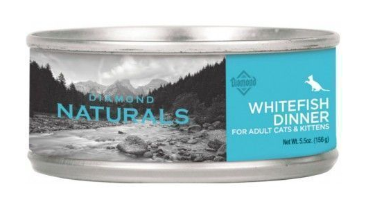 Diamond Naturals Whitefish Dinner Lata- Clínica veterinaria