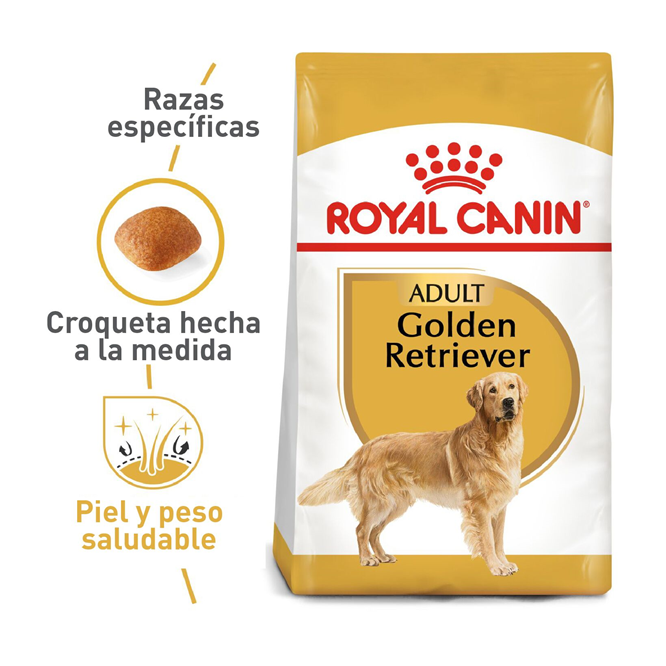 Royal Canin Adulto Golden Retriever- Clínica veterinaria