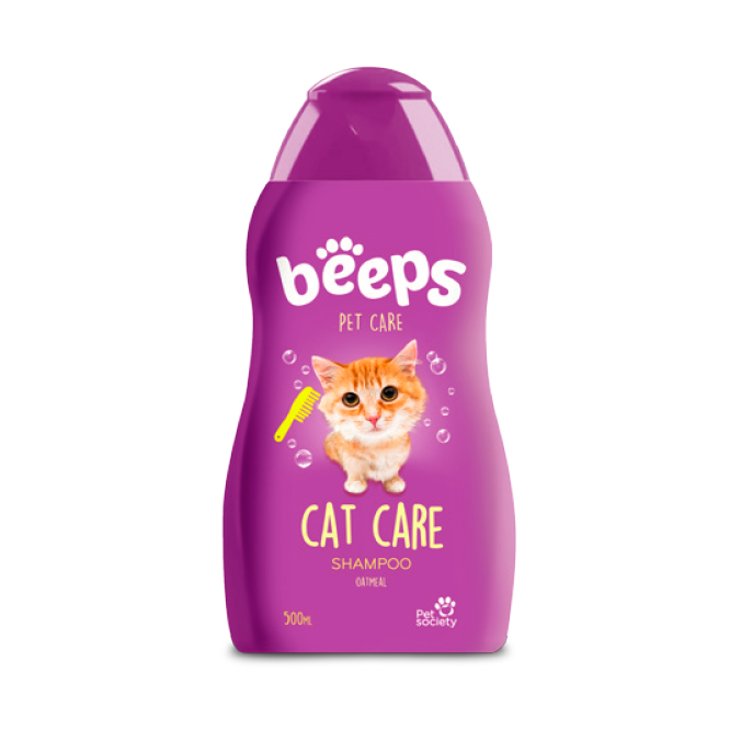 Beeps Shampoo Cat Care- Clínica veterinaria