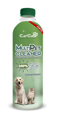MULTIPET CLEANER CONCENTRADO FRASCO X 500 ML