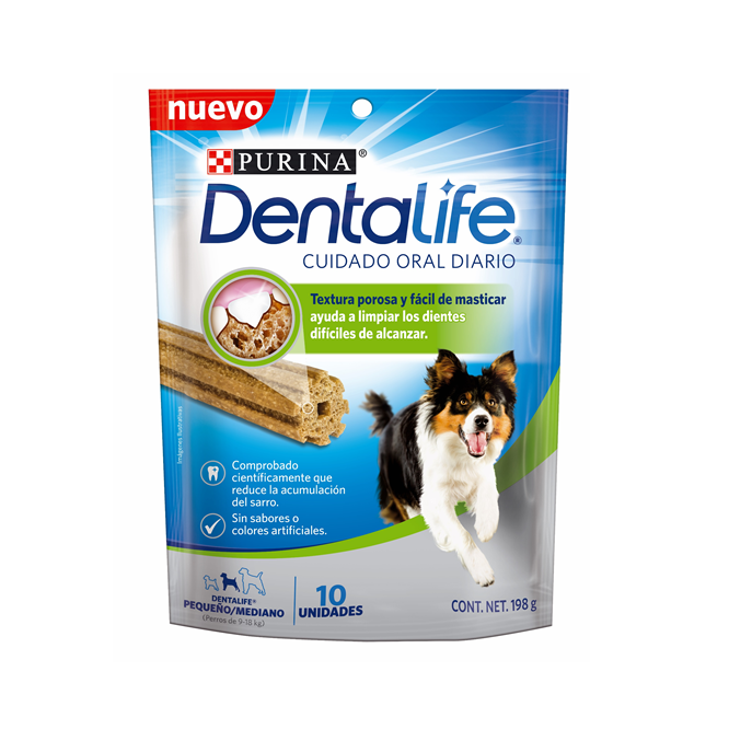 Dentalife small dog treats- Clínica veterinaria