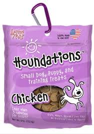 Houndations small dog, puppy and trainning treats Pollo- Clínica veterinaria