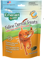 Emerald Pet Snack para gatos Dental Pollo- Clínica veterinaria