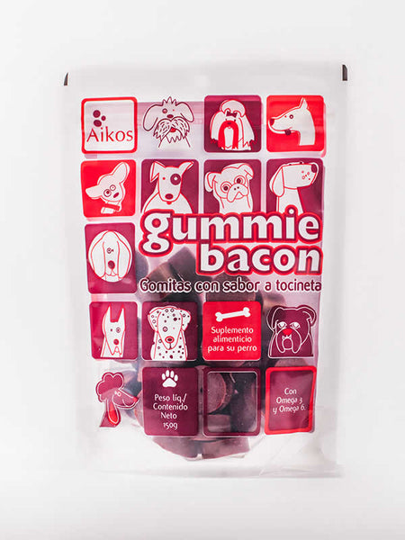 Snack Gummie Bacon- Clínica veterinaria