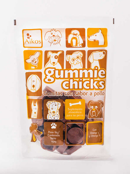 Snack Gummie Chicks- Clínica veterinaria