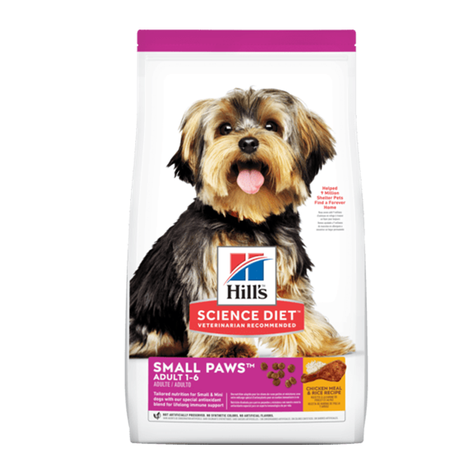 Hill´s adulto small paws- Clínica veterinaria