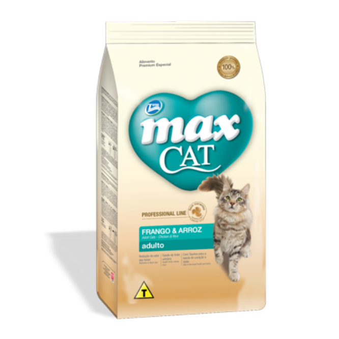 Max Cat Adulto Pollo y Arroz- Clínica veterinaria