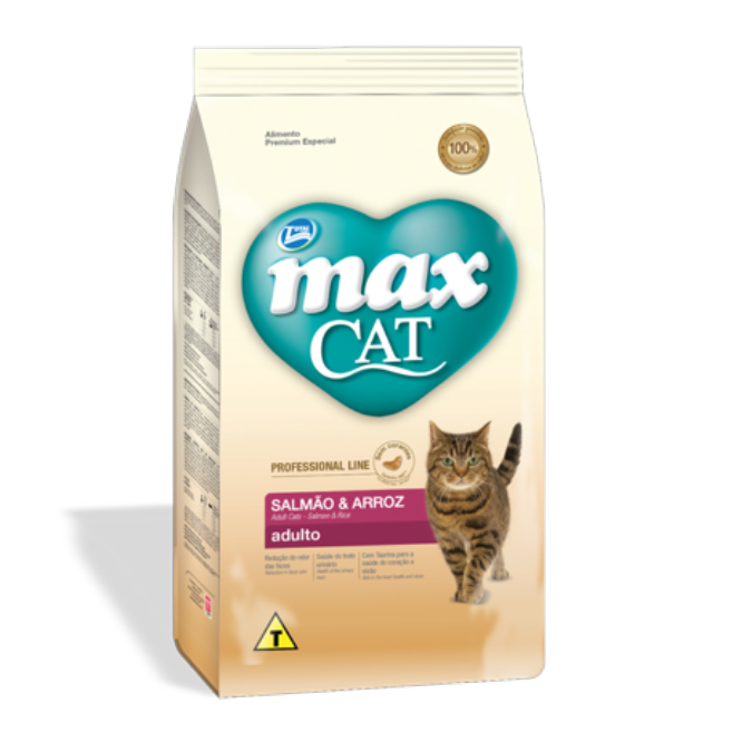 Max Cat Adulto Salmón & Arroz- Clínica veterinaria