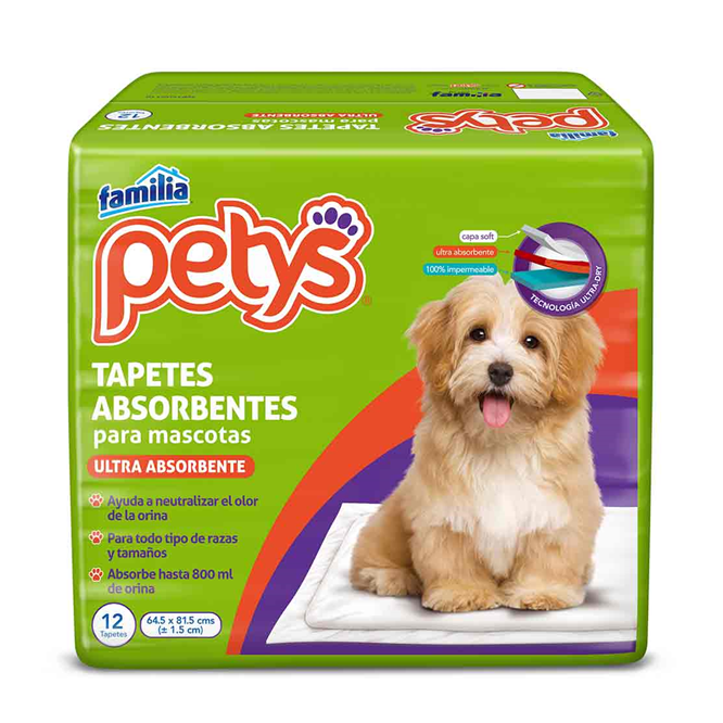 Petys Tapetes Absorbentes- Clínica veterinaria