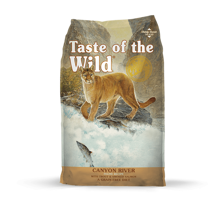 Taste of The Wild Canyon River- Clínica veterinaria