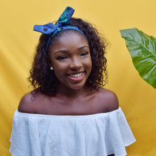 Load image into Gallery viewer, African ankara print wired headband