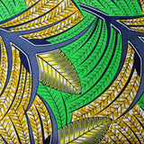 Pocket Square - Green Yellow Garden
