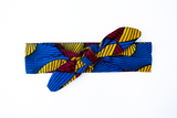 Wired headband - Red Yellow Blue Swirl