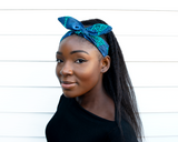 Wired headband - Blue Waterwell