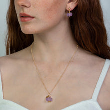 Load image into Gallery viewer, Amethyst Zodiac Birthstone Necklace (February)
