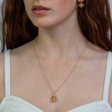 Load image into Gallery viewer, Citrine Zodiac Birthstone Necklace (November)