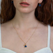 Load image into Gallery viewer, Sapphire Zodiac Birthstone Necklace (September)
