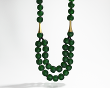 Load image into Gallery viewer, 'Rise and Shine' necklace - Forest Green