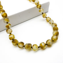 Load image into Gallery viewer, (Wholesale) Long single strand necklace - Amber