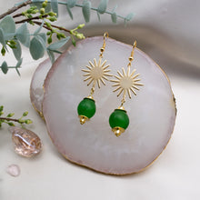 Load image into Gallery viewer, Radiant earring - Fern Green
