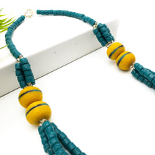 Load image into Gallery viewer, (Wholesale) 'Knot Your Average' necklace - Teal
