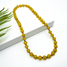 Load image into Gallery viewer, Long single strand necklace - Yellow