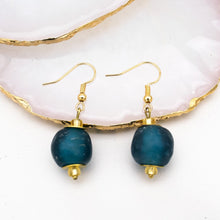Load image into Gallery viewer, Swing earring - Teal