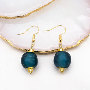 Swing earring - Teal