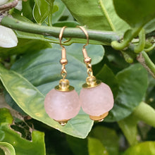 Load image into Gallery viewer, Swing earring - Blush Pink