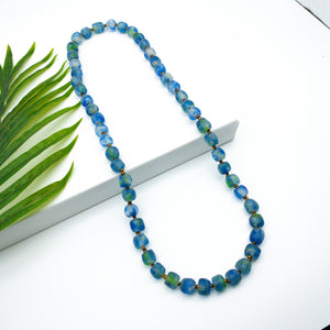 (Wholesale) Long single strand necklace - Ocean