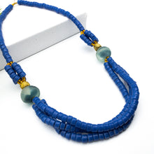 Load image into Gallery viewer, (Wholesale) 'Knot Your Average' necklace - Cobalt