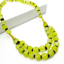 Load image into Gallery viewer, (Wholesale) Medium 'Rise and Shine' necklace - Lime Green