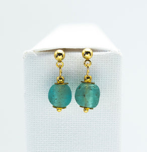 Aquamarine Zodiac Birthstone Earrings (March)
