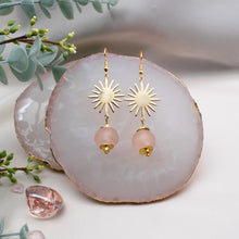 Load image into Gallery viewer, Radiant earring - Blush Pink