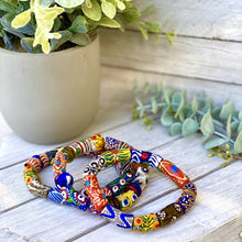 Load image into Gallery viewer, (Wholesale) Hand painted multicoloured bracelet
