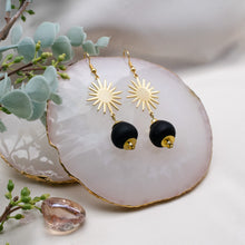 Load image into Gallery viewer, Radiant earring - Black