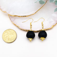 Load image into Gallery viewer, (Wholesale) Swing earring - Black