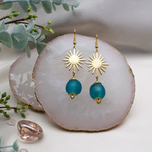 Load image into Gallery viewer, Radiant earring - Azure Blue