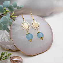 Load image into Gallery viewer, (Wholesale) Radiant earring - Cyan