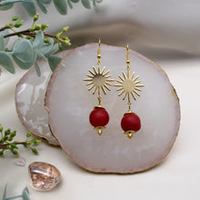 Load image into Gallery viewer, (Wholesale) Radiant earring - Red