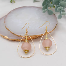 Load image into Gallery viewer, (Wholesale) Teardrop earring - Blush Pink