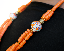 Load image into Gallery viewer, (Wholesale) 'Knot Your Average' necklace - Orange