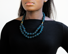 Load image into Gallery viewer, (Wholesale) Medium 'Rise and Shine' necklace - Teal
