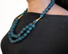 Load image into Gallery viewer, Medium 'Rise and Shine' necklace - Emerald