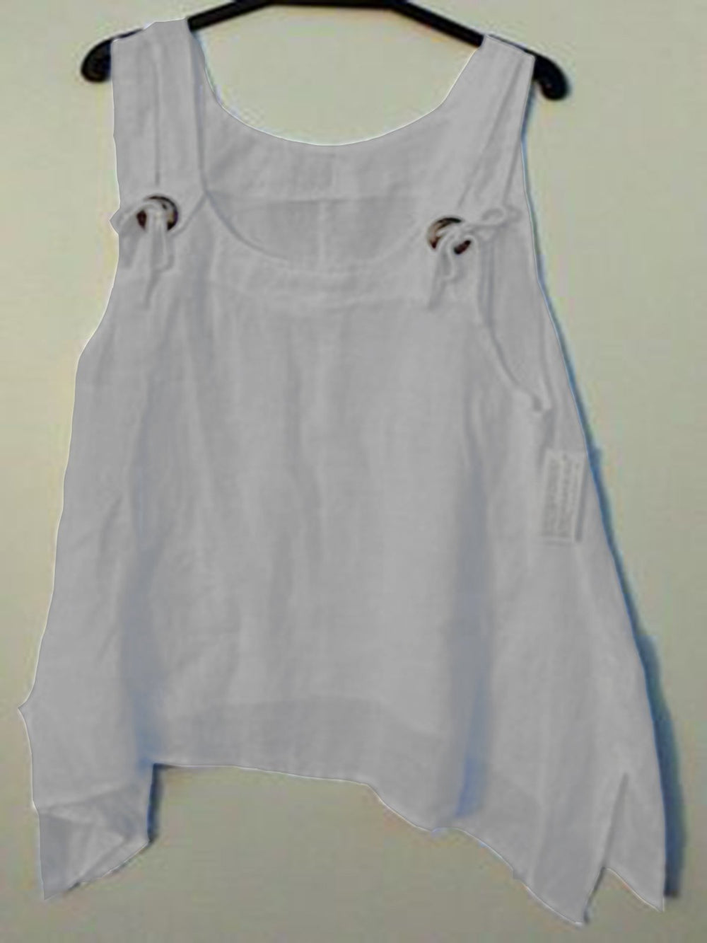 Women White Round Neck Casual Shirts & Tops