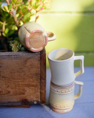 Gorgeous Frankoma Pottery Mugs