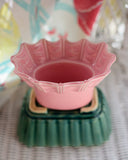 Sweet Pink Miramar of California Scalloped Planter